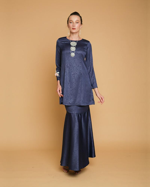 Queen Luxe Kurung Blue