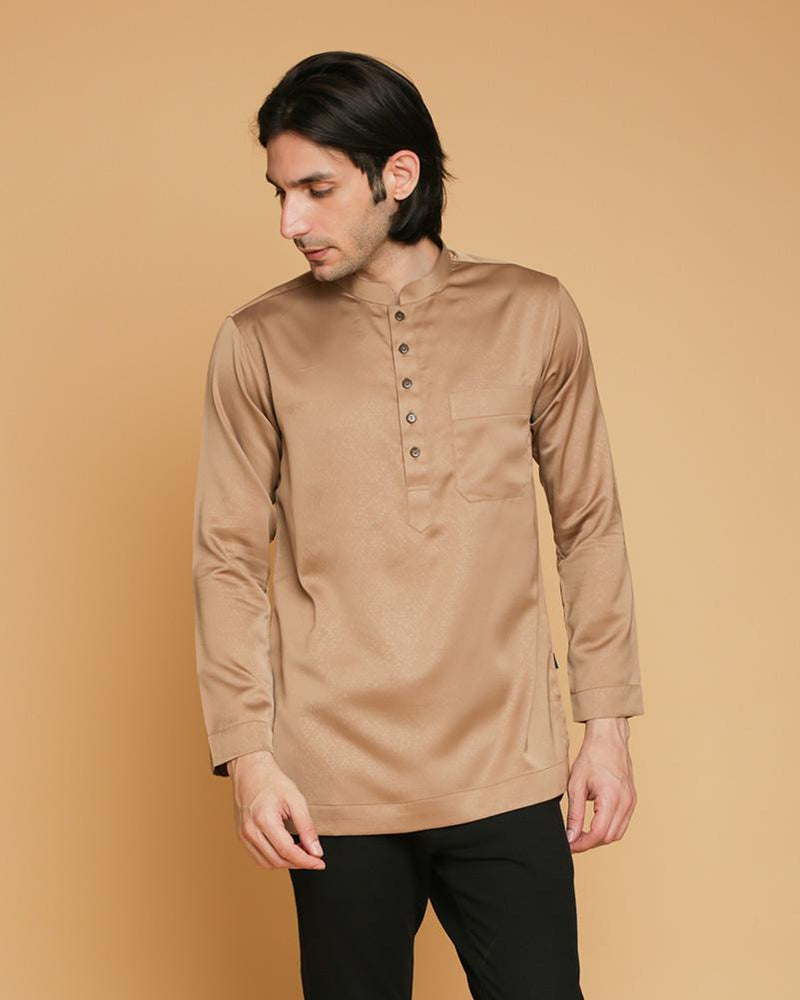 Kurta King Luxe Brown