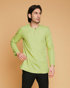 Kurta Teluk Belanga Klasik Apple Green New