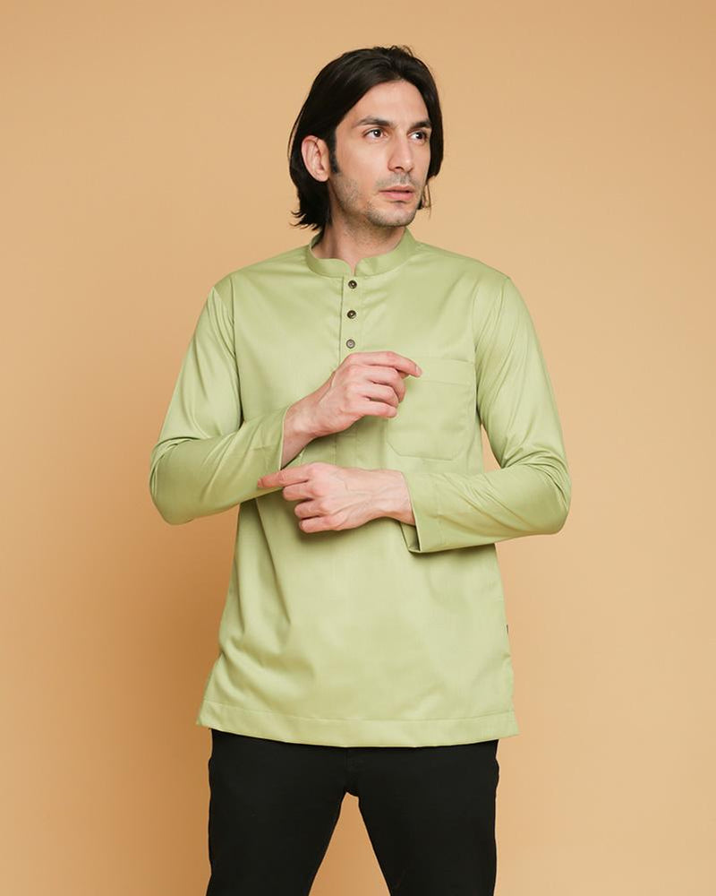 Kurta Bangsawan 2018 Light Green