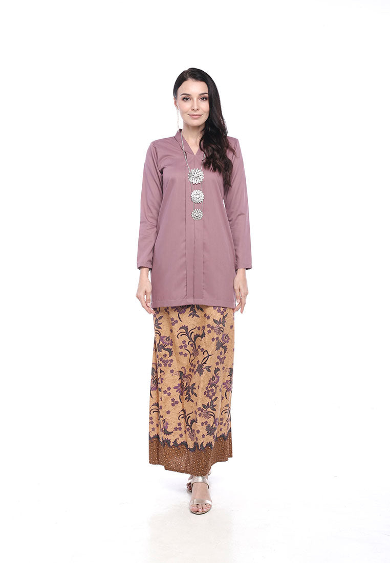 Ellis Kebaya Moden Dusty Purple