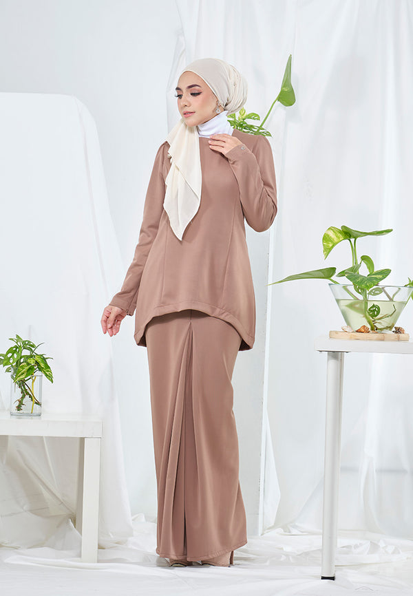 Emma Kurung Chestnut Brown