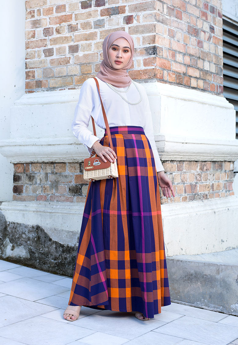 Felora Skirt Purple