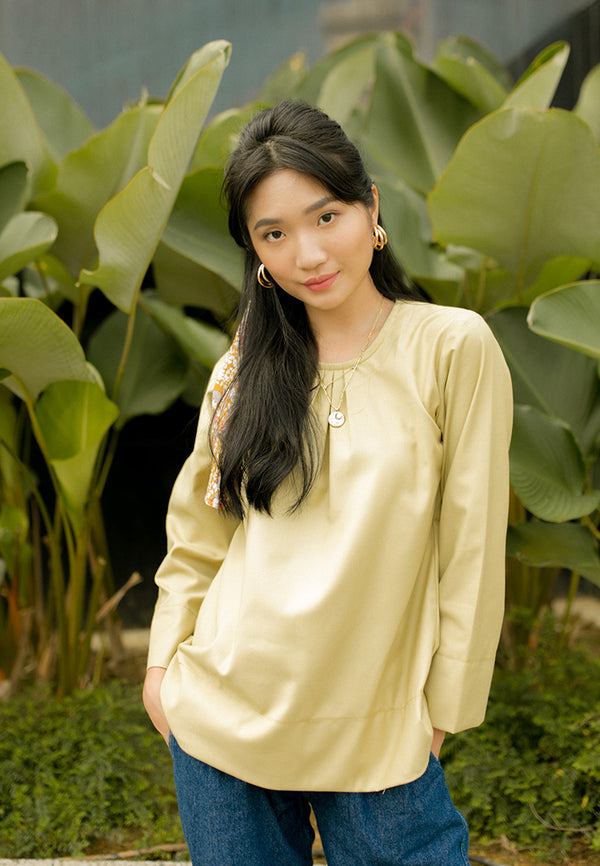 Helena Blouse Dusty Yellow