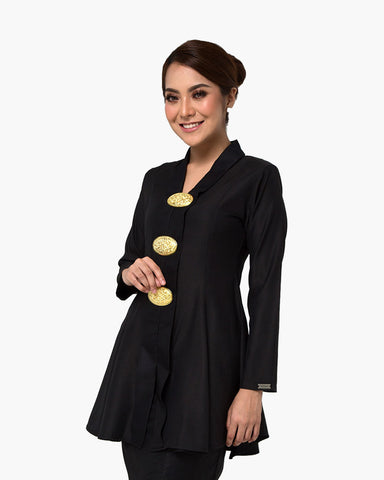Kebaya Queen Black