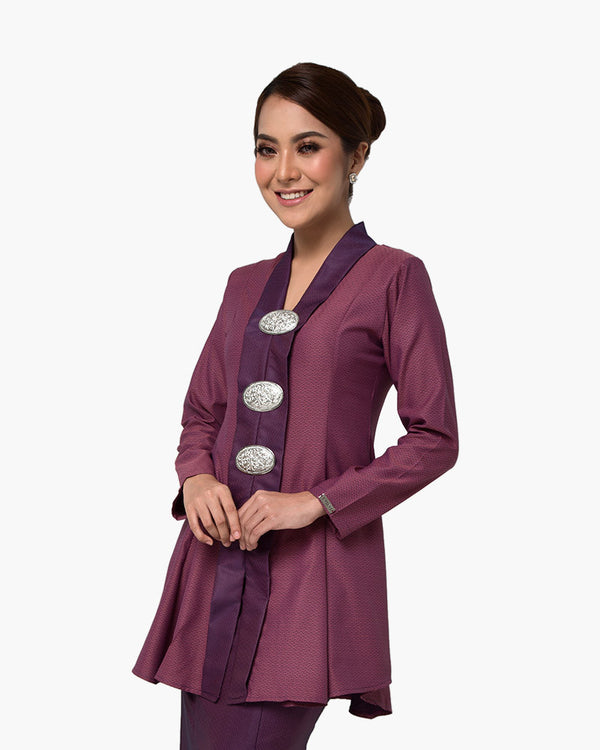 Kebaya Queen Dark Purple