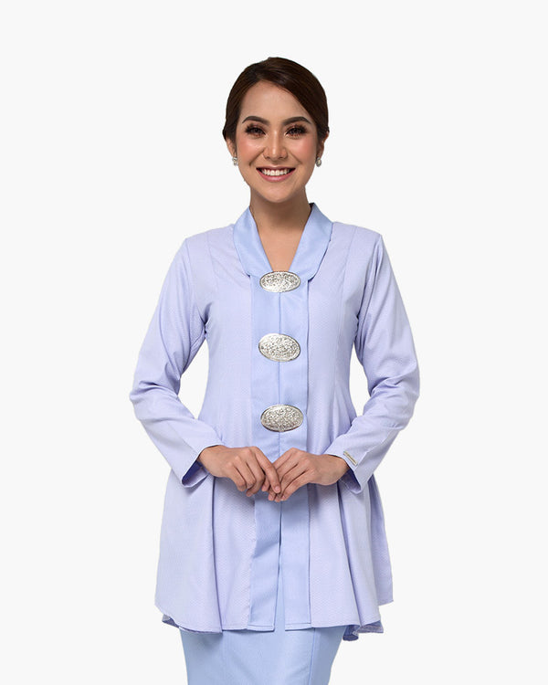 Kebaya Queen Soft Blue