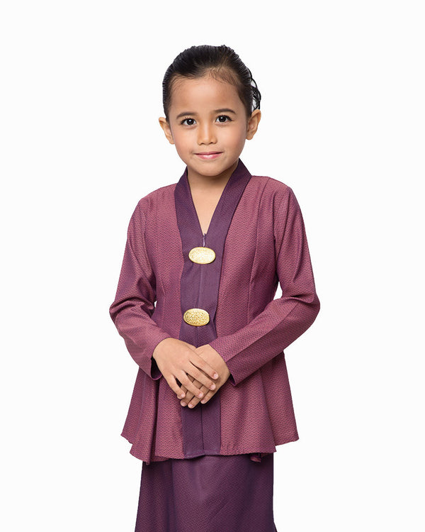 Kebaya Princess Dark Purple
