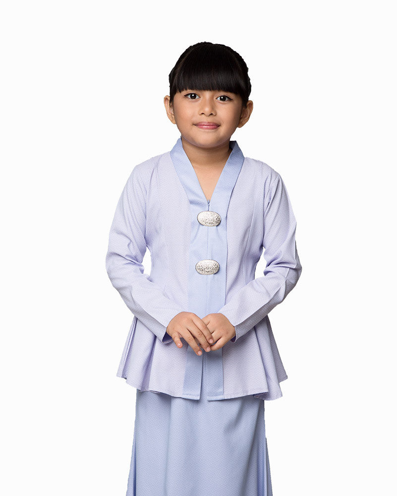 Kebaya Princess Soft Blue