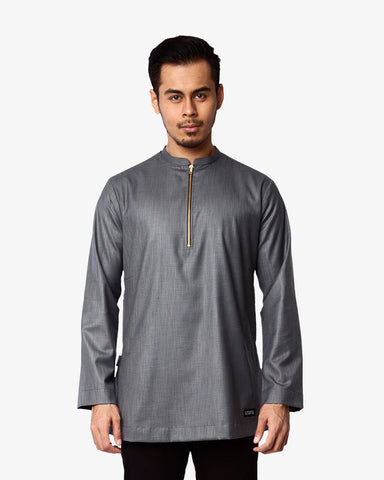 Kurta Bangsawan Executive Grey - CIRGARO