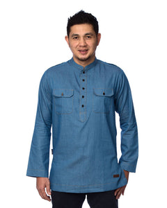 Kurta Safari Denim #4