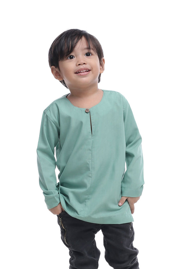 Kurta Teluk Belanga Kids 2020 Mint Green