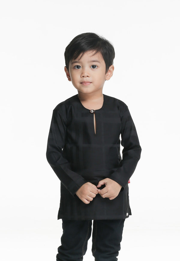 Kurta Ghassan Kids Black