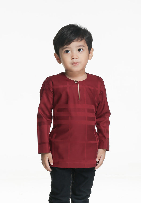 Kurta Ghassan Kids Red