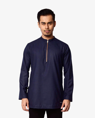 Kurta Bangsawan Midnight Blue