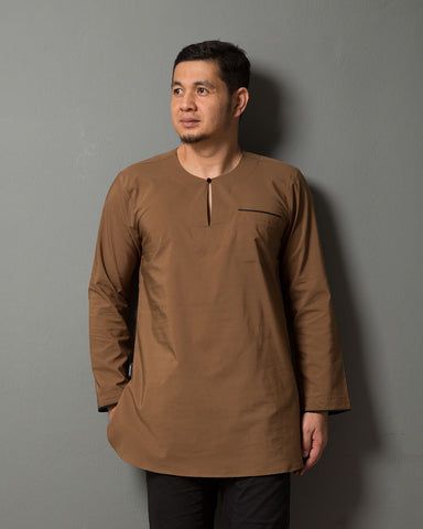 Kurta Uno Brown Gold - CIRGARO - 1