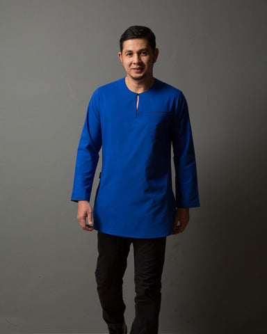 Kurta Uno Royal Blue - CIRGARO - 2