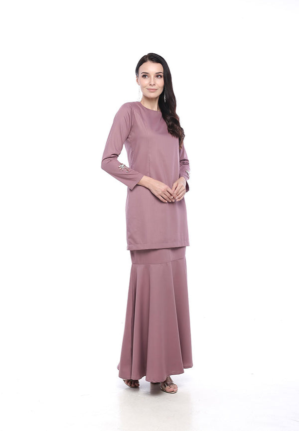 Iris V2 Kurung Moden Dusty Purple