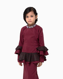 Kurung NIA Kids Red
