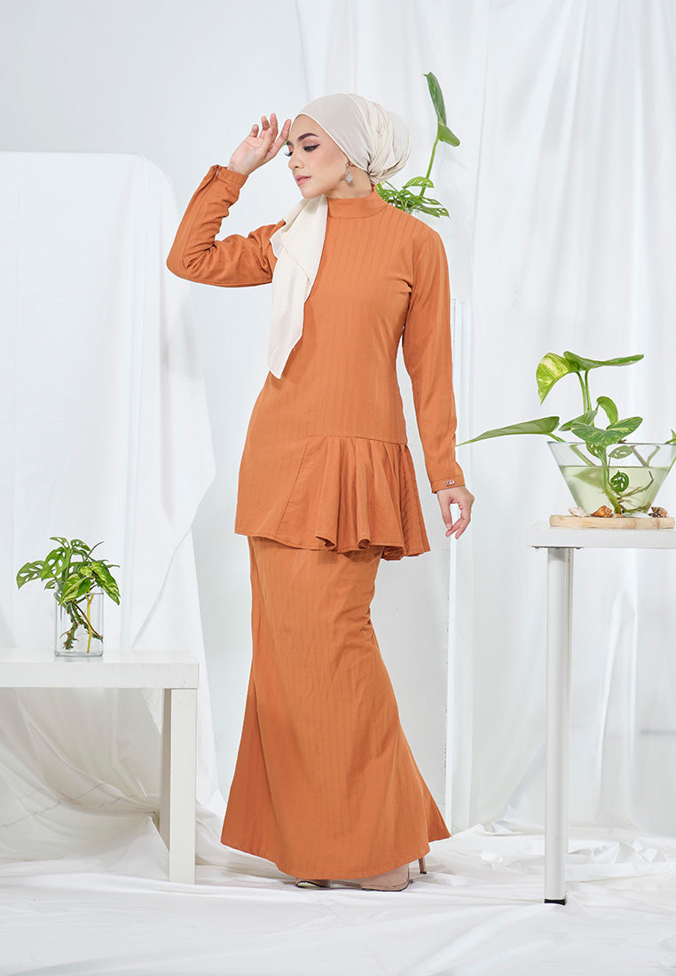 Lana Kurung Dusty Orange