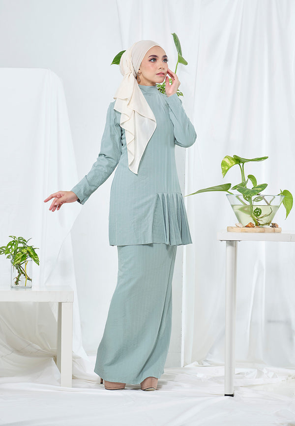 Lana Kurung Powder Blue
