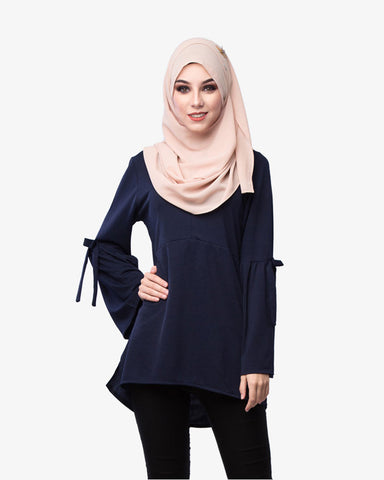 Blouse Marilyn Dark Blue - CIRGARO