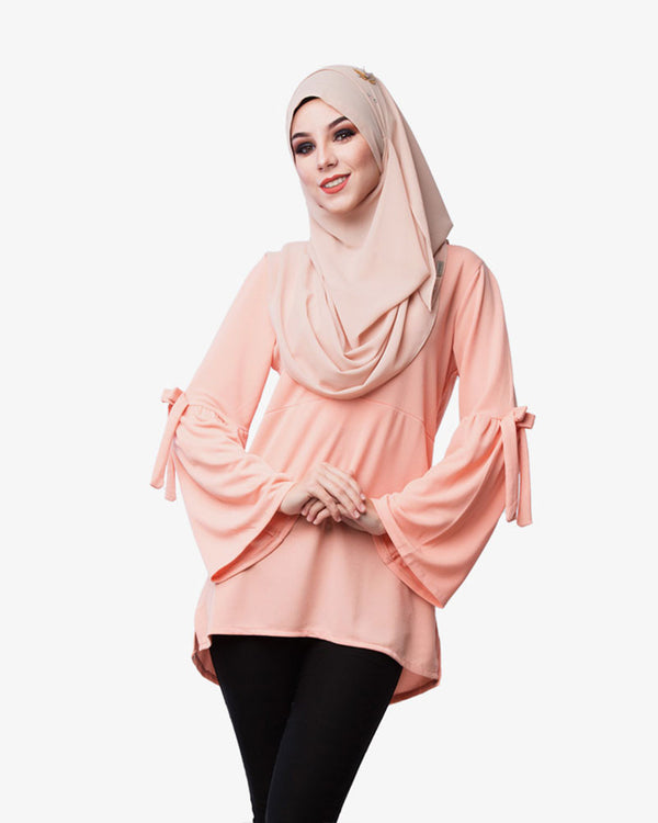Blouse Marilyn Peach - CIRGARO