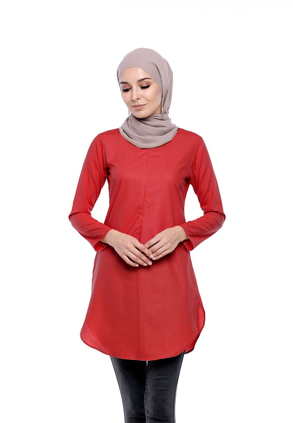Tunic Primadona Fiery Red