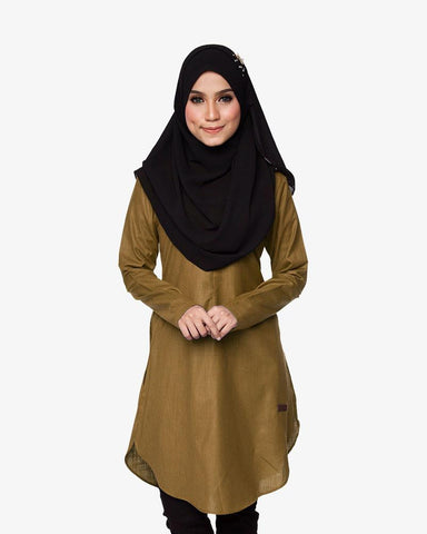 Tunic Primadona Brown Gold - CIRGARO