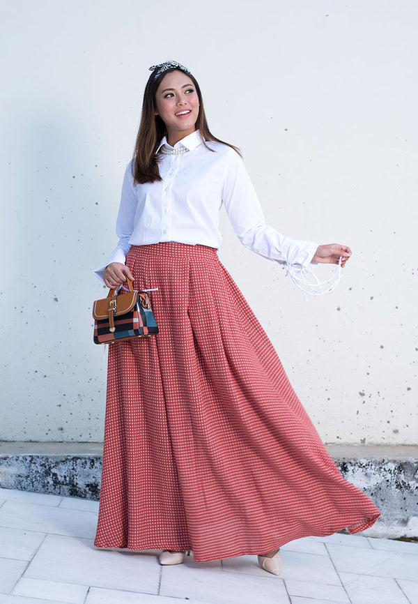 Yasmina Skirt Orange