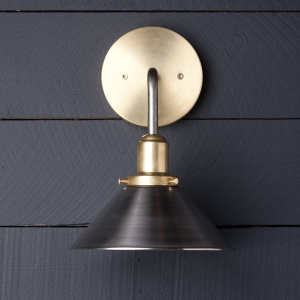 Cone Shade Wall Sconce