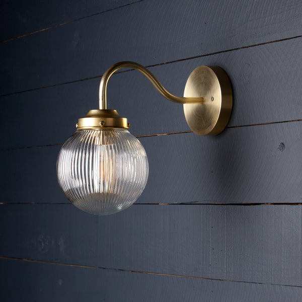 Brass Globe Light