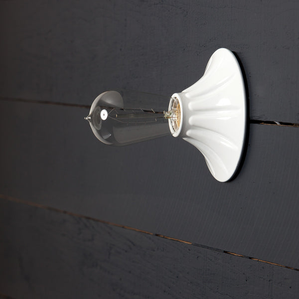 Bare Bulb Wall Sconce
