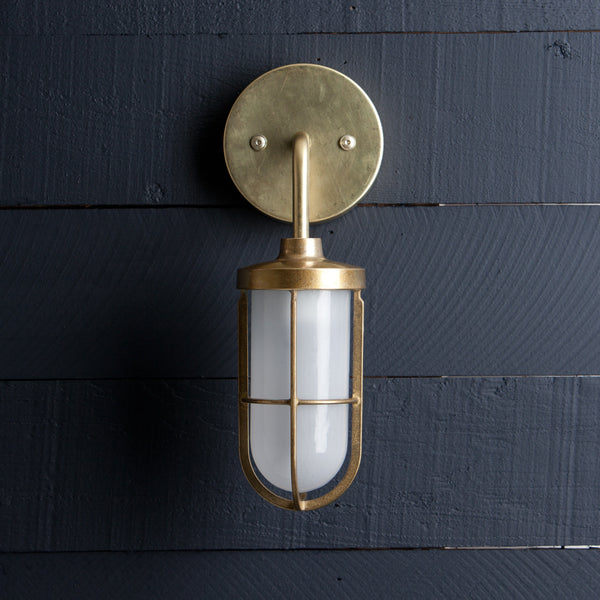 Nautical Brass Wall Sconce