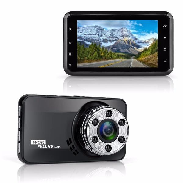 Dash Cam HD 1080P 170 Degree Super Wide Angle Night Vision WDR - Shopodium
