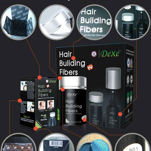 Hair Building Fibers (Hair Growth, Anti Loss, Thickening) by Dexe - Shopodium