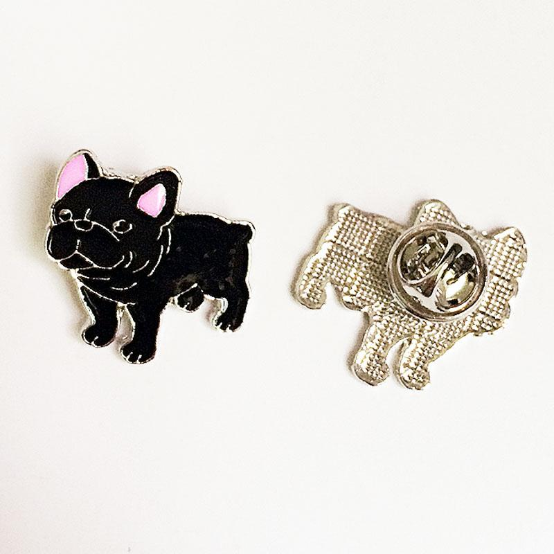 Dachshunds Corgi Dogs Decorated Brooches Pins Badge