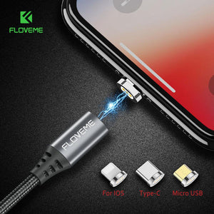Magnetic Micro USB Charging and Data Transfer Cable for Android, iOS, Phone and Tablets