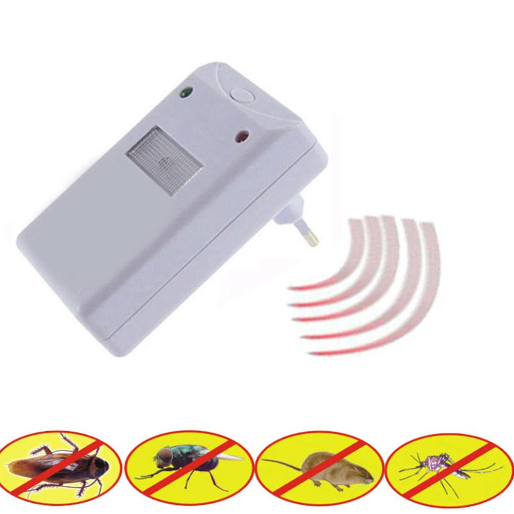 Electronic Pest Repellent for Rodents, Roaches, Ants, Spiders - Shopodium