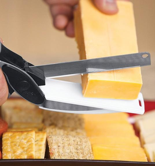 Clever Cutter 2 in 1 Knife And Cutting Board