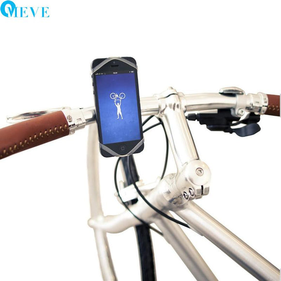 Silicone Smartphone Holder on Bike - Shopodium