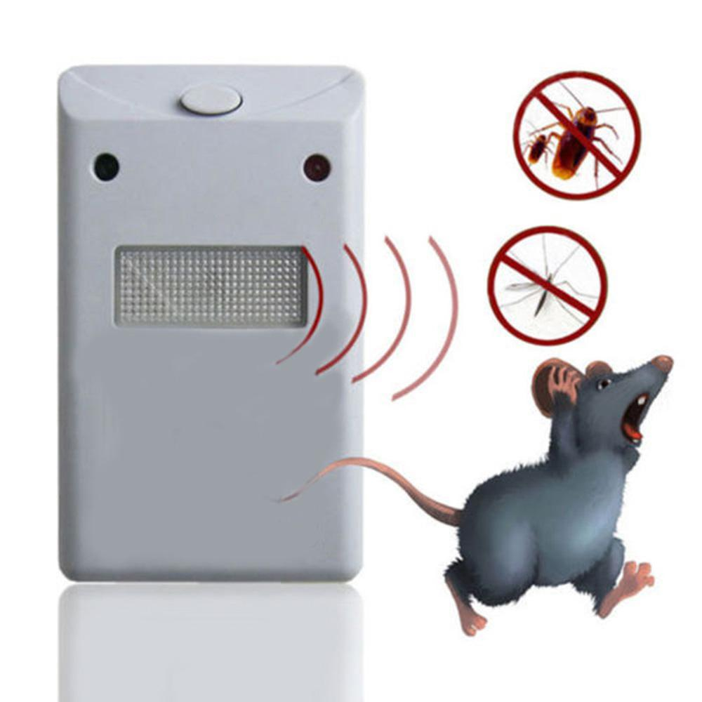 Electronic Pest Repellent for Rodents, Roaches, Ants, Spiders