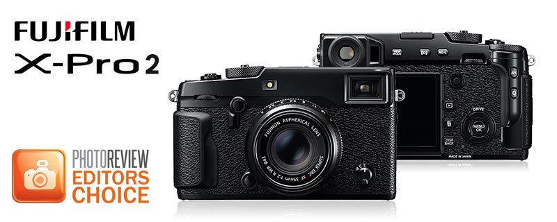 Fujifilm X-Pro2 Awarded Editor's Choice by PhotoReview