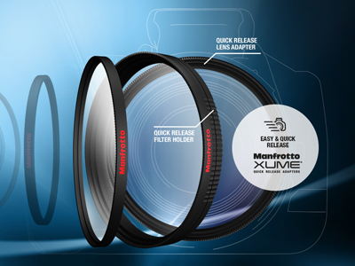 Manfrotto XUME Filter Attachment System Now Available from CamBuy Camera Store