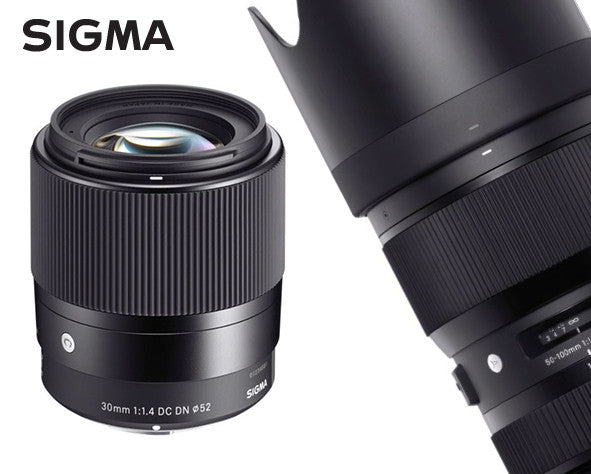 Sigma 50-100mm F1.8 DC HSM Art and 30mm F1.4 DC DN Contemporary Now Available for Pre-order