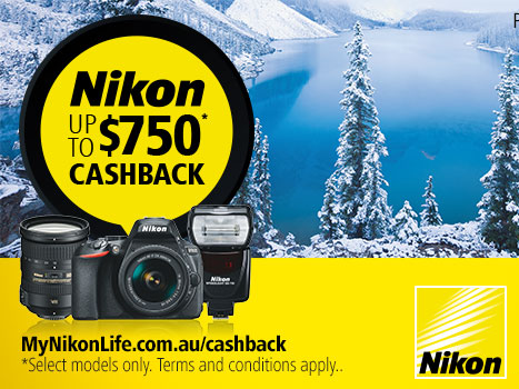 Nikon Australia Cash Cack Offers - June & July 2017