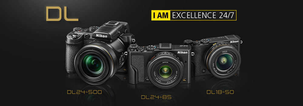 Nikon Introduces New Premium Compact DL Series and Four New Additions to the 2016 COOLPIX Range