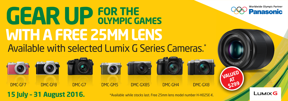 Gear Up for the Olympics with Panasonic!