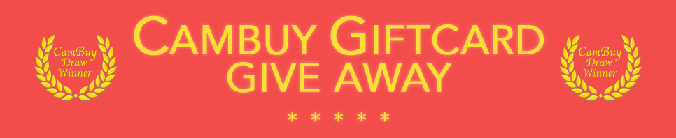CamBuy Giftcard Give Away