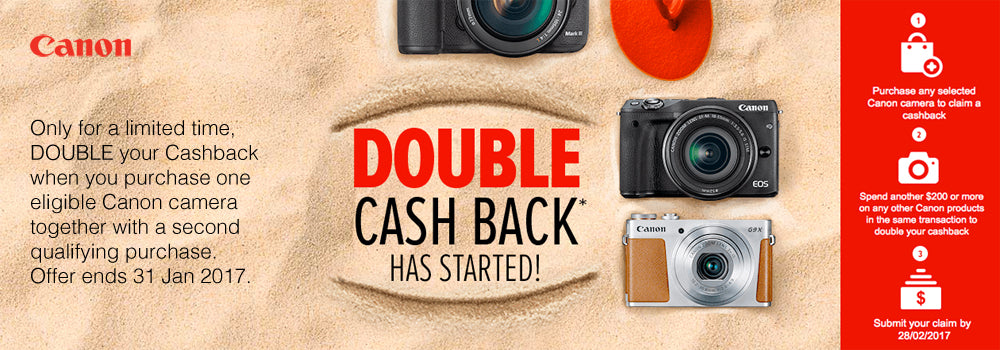 Canon Double Cash Back